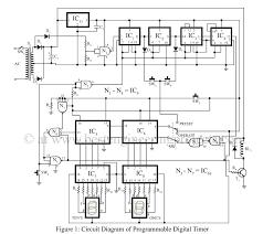 countdown timer circuit diagram the wiring diagram programmable digital timer circuit diagram best engineering circuit diagram