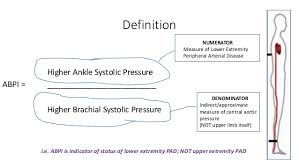 Abpi Calculation Chart Ankle Brachial Pressure Index Abpi