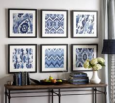 Wall Art Decor For Living Room Refresh Your Home With Wall Art From The Pottery Barn Blog Blue