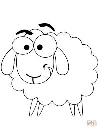 Tranh Tô Màu Con Cừu Đẹp Nhất Dành Tặng Bé