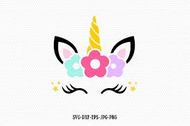 The unicorn face with bow design bundle includes: Download Png Unicorn Face Png Gif Base
