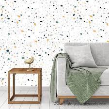 Terrazzo Earth Tone Wallpaper ...