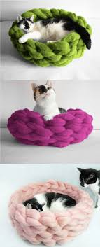 Cat Bed Cat Furniture Woolen Sleeping Pod