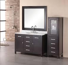 modern single bathroom vanity. Modern Single Sink Bathroom Vanity With White Carrera Marble · Loading Zoom