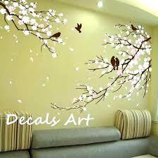 vinyl wall art tree wall decals tree branch wall art decals tree branches fresh white flower