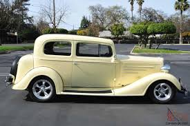 1934 Chevy Master Deluxe TownCar 327/350 Ford 8