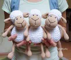 Free Crochet Pattern Unique Crochet Bobble Sheep Pillow And Lots Of Free Patterns