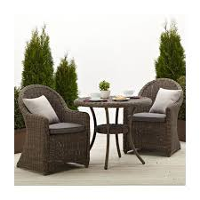 patio all weather wicker chairs resin wicker patio furniture round wicker side table with shelf