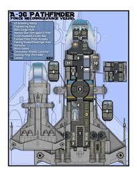 LegFltPxDeckResizedjpg 1750×2111  Planos Naves Espaciales Spaceship Floor Plan