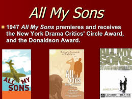 arthur miller the crucible all my sons