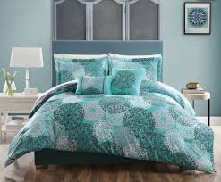 image of innovative grey and teal twin bedding