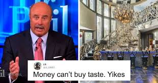 Make a meme make a gif make a chart make a demotivational flip through images. Dr Phil S House Is For Sale And Its Design Is Beyond Wonky Bored Panda