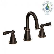 moen banbury 8 in widespread 2 handle bathroom faucet in with regard to immaculate bronze bathtub