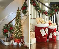 Christmas Decorating Ideas For Banisters christmas decor ideas dress your  home to impress improvements blog best interior