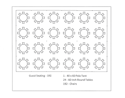how many people does a 60 inch round table seat designs 60 inch rounds the special event guru banquet seating 40 x 60 pole tent seating arrangements