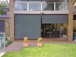 custom patio blinds. #Outdoor #blinds Serve A Practical Decree In The Warmer Months By Blocking Hot Custom Patio Blinds I