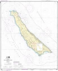 Oceangrafix Noaa Nautical Chart 18762 San Clemente Island