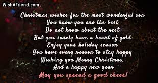 Christmas Blessing Quotes Best Christmas Messages For Son
