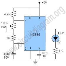 simple 555 led flasher circuit diagram de todo pinterest 12 Volt Flasher Circuit Diagram simple 555 led flasher circuit diagram 12 volt led flasher circuit diagram