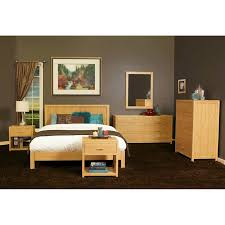 Aniko 6 piece Queen Bamboo Bedroom Set