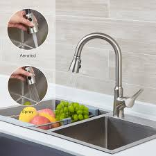 Touch kitchen faucets Rb Dst Smart Touch Kitchen Faucets With Pull Down Sprayer Aosgya Smart Touch Kitchen Faucets With Pull Down Sprayer Aosgya