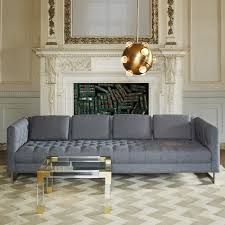 jacques acrylic and brass tail table modern furniture