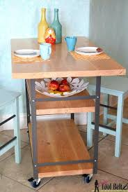 industrial furniture ideas. Diy Industrial Furniture Rolling Island Counter Table Her Tool Belt Featured On Ideas For The