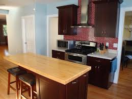 wood and butcher block kitchen countertops