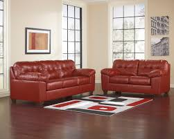 Red Leather Couches Ashley Furniture west r21