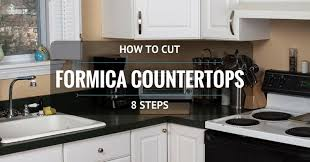 how to cut formica countertop