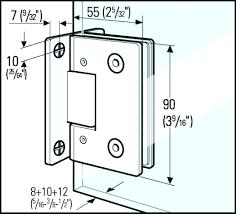 adjusting glass shower door hinge fixing sliding glass shower doors