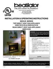 heatilator gndc36 manuals heatilator gndc36 installation operating instruction