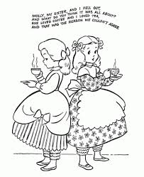 Preschool Nursery Rhymes Coloring Pages Az Coloring Pages with ...