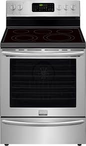 closeout frigidaire gallery 30 free standing electric range stainless steel fgef3058rf