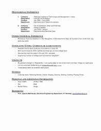 Interest And Hobbies For Resume Examples Hirnsturm Me