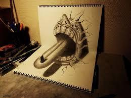 3d pencil drawings 23