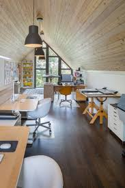 Minimal Desks - Simple workspaces, interior design. Attic OfficeOffice ...