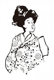 着物の和風女性 No100092年賀状素材イラストの無料ダウンロードなら