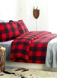 plaid sheets queen red plaid sheets buffalo check flannel duvet cover set target red plaid sheets