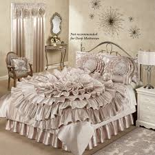 Small Picture Champagne Bedroom Home Ruffled Romance Champagne Rosette
