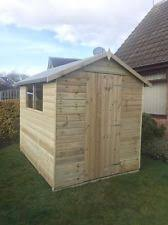 cheap garden sheds. Tongue And Grooved Tanalised Factory Seconds Garden Shed Wooden Apex T\u0026G Hut Cheap Sheds