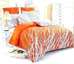 burnt orange and brown king comforter sets bedding duvet cover bedsprea