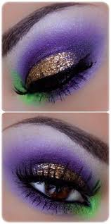 beautiful bold pops of purple green and gold great mardi gras look