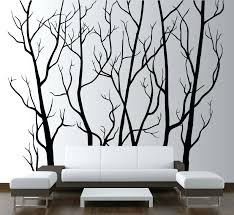 wall art stickers uk trees large wall vinyl tree forest decal removable on large wall art stickers uk with wall art stickers uk trees large wall vinyl tree forest decal