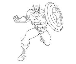 Small Picture Beautiful Captain America Coloring Ideas Amazing Printable
