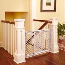 north states heavy duty baby gate  with sliding door