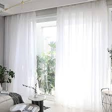 living room sheer window treatments. Plain Living HOME BRILLIANT Sheer Window Curtains For Bedroom White Treatment  Panels Living Room Set To Room Treatments I