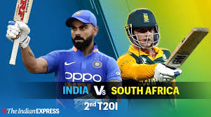 India vs South Africa 2nd T20 Live Score, Ind vs SA T20 Live Cricket ...