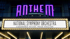 Seating Chart Anthem Dc National Symphony Orchestra At The Anthem Gershwins An