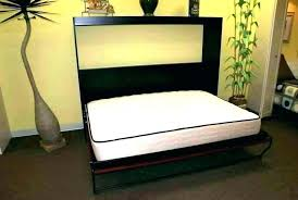 Murphy Bed Horizontal Twin Murphy Bed Frame Kit Cozy Queen Bed Kit ...